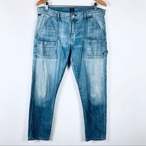 Citizens of Humanity Leah Cargo Cropped Jeans 30
